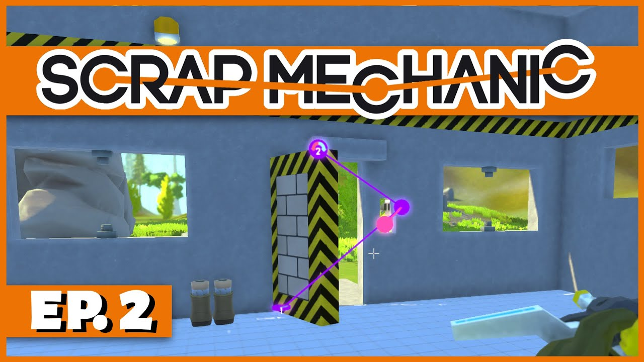 Scrap Mechanic - Ep. 2 - Controllers and Door Construction! - Let\u0027s Play Scrap Mechanic Gameplay - YouTube  sc 1 st  YouTube & Scrap Mechanic - Ep. 2 - Controllers and Door Construction! - Let\u0027s ...