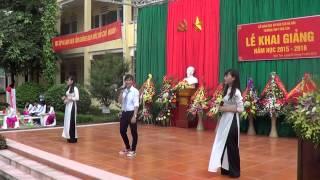 Chào năm học mới - Trường PTTH Vân Tảo - Thường Tín - Hà Nội