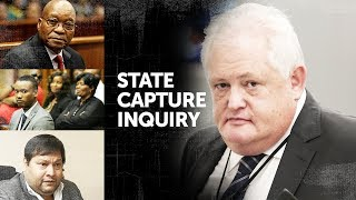 WATCH LIVE   #StateCaptureInquiry: Agrizzi continues his testimony, who will be implicated?