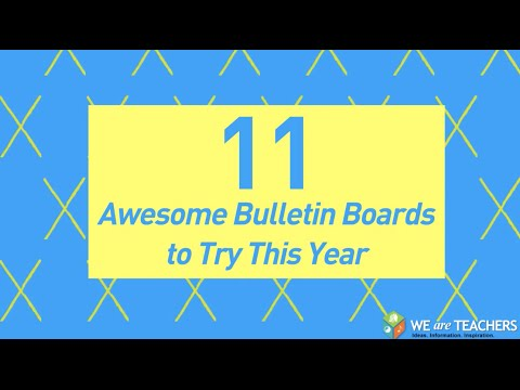 Awesome Bulletin Boards to Try in Your Classroom