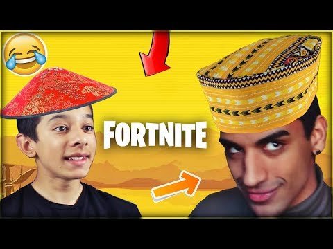 KINESER & AFRIKANER SPILLER FORTNITE FOR FØRSTE GANG! (Troller i FORTNITE)