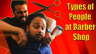 Gambar cover Types Of People At Barber Shop | Comedy Video | The Idiotz