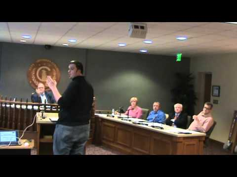Greensburg IN City Board of Works mtg. of 2-1-16 part 1 of 2