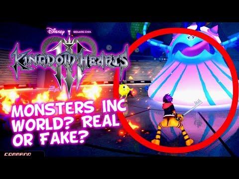 *Leaked* Kingdom Hearts 3 RUMOR - Monsters, Inc. World?