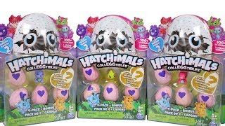 Hatchimals CollEGGtibles Season 2 Unboxing Toy Review 4 Pack + Bonus Opening