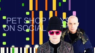 """Pet Shop Boys - ON SOCIAL MEDIA (PRO MIDI REMAKE / CHORDS) - """"in the style of"""""""
