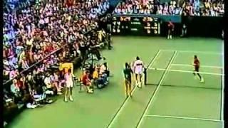 Lendl McEnroe - Match Point and Cameramen - Fantastic & Hilarious