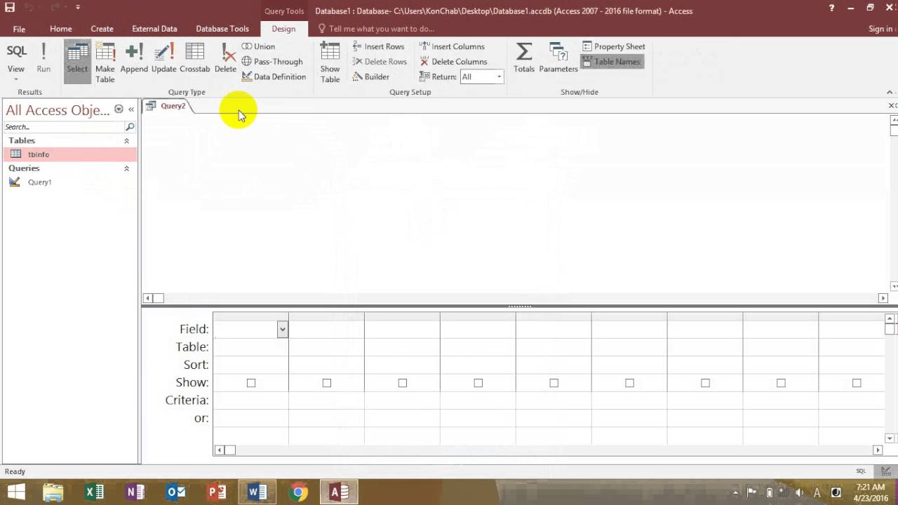 Excel 2016 – Ribbons, Tabs and Quick Access Toolbar