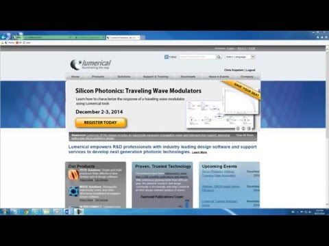 Lumerical Software: Floating License Trial Installation