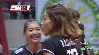 [Highlight Ajcharaporn & chatchu-on ] Thailand vs Philippines AVCWomensSCH 2017