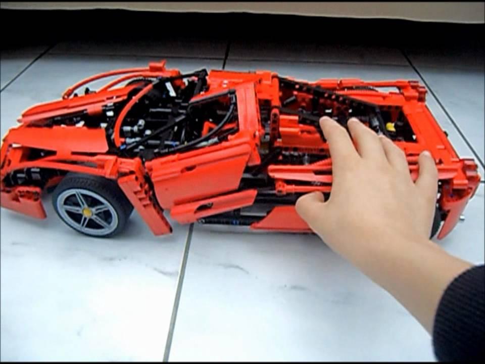 lego racers 1 10 ferrari enzo 8653 youtube. Black Bedroom Furniture Sets. Home Design Ideas