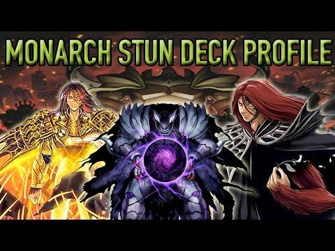 Monarch Stun Deck Profile & Expanation: NO YUGIOH 4 U!