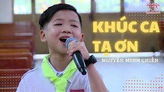 KHÚC CA TẠ ƠN - Nguyễn Minh Chiến (Live)