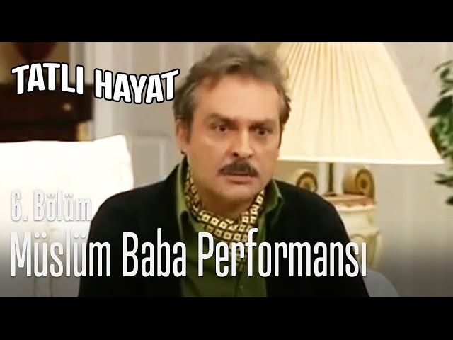 İhsan'ın Müslüm Gürses performansı... - Tatlı Hayat 6. Bölüm