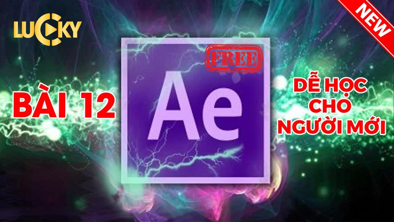 Bài 12: Cách xuất file (export file) ,render video chuẩn trong after effect cc 2018