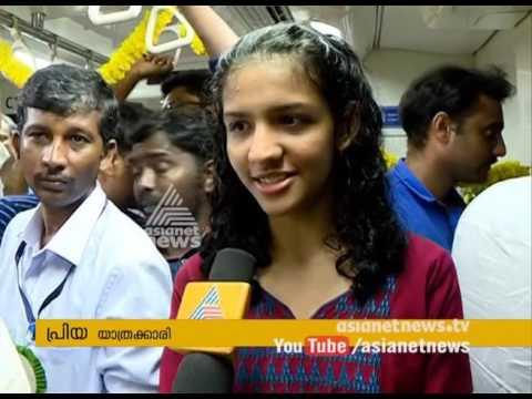 First Underground Metro Train In Chennai To  Ride Begins