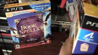 GameMadness Wonderbook Book of Spells unboxing plus raffle!