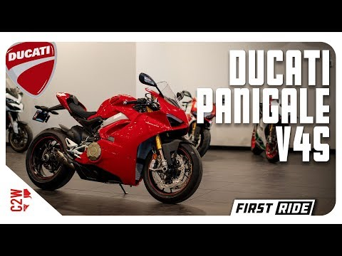 2018 Ducati Panigale V4S   First Ride