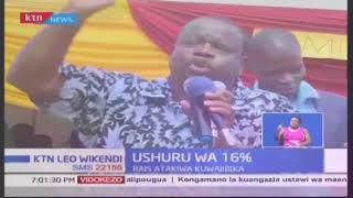 Musalia Mudavadi wanamtaka Rais Uhuru Kenyatta kuwajibikia