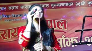 Narayan Gopal Smriti Sanjh 2072 at Narayani Kala Mandir,Narayangarh,Chitwan.