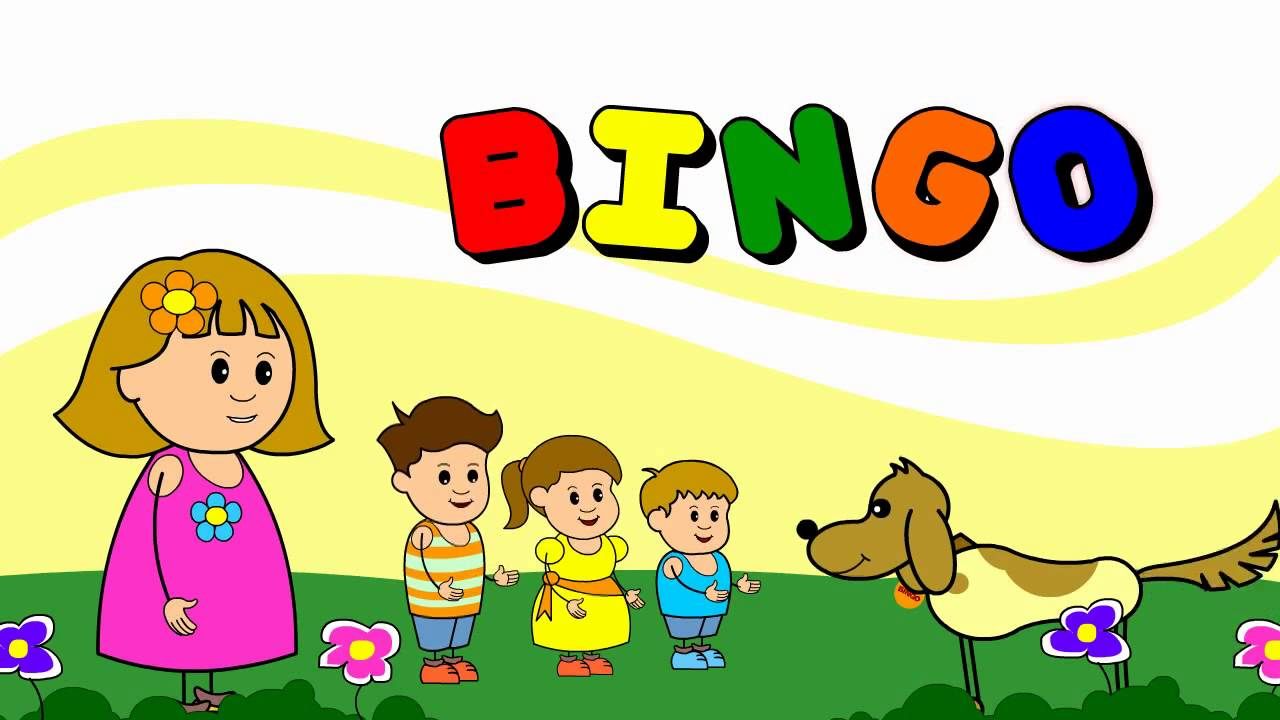 BINGO Song with Lyrics - Nursery Rhymes (HD) - YouTube