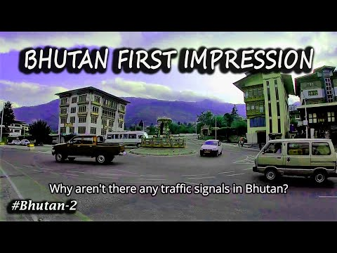 My First Impression of Bhutan    Solo Male Entry Permit at Bhutan Immigration Office   SOLO Bhutan 2