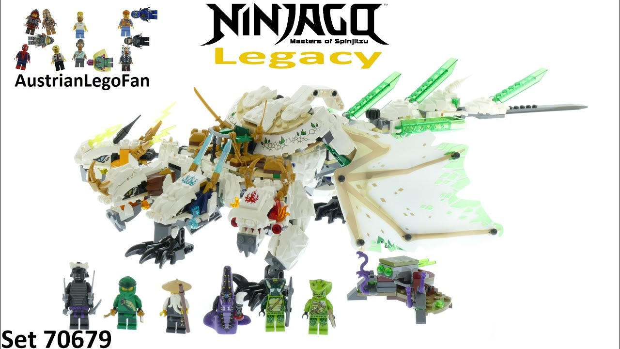 Lego Ninjago Legacy 70679 The Ultra Dragon Speed Build