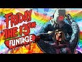 Friday The 13th Funtage! - Car Chase, Epic Moments, Funny Glitches (F13 Game Funny Moments)