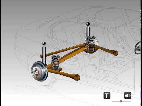 Замена сайлент блока продольного рычага задней подвески Mitsubishi Outlander 2005 4WD