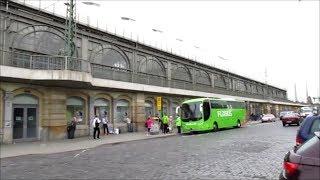 Отпуск в Германи. Едем на автобусе из  Дрездена в Берлин.
