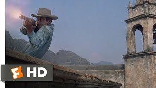 The Magnificent Seven (9/12) Movie CLIP - Village Shootout (1960) HD