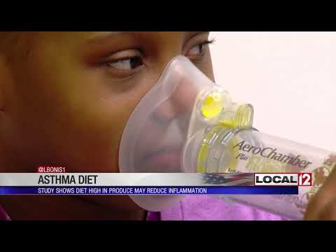 Study says new diet may improve asthma