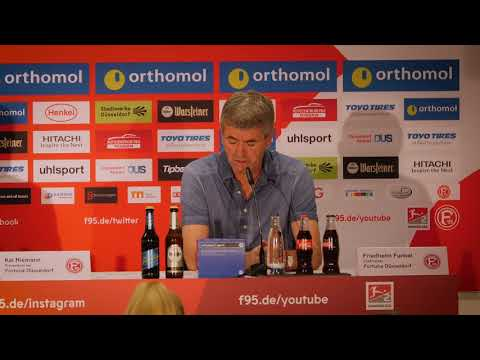 Pressekonferenz nach Fortuna Düsseldorf vs. FC Ingolstadt