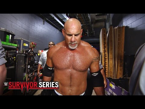 Thumbnail: Goldberg's epic entrance: WWE Survivor Series 2016