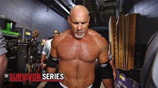Goldberg's epic entrance: WWE Survivor Series 2016