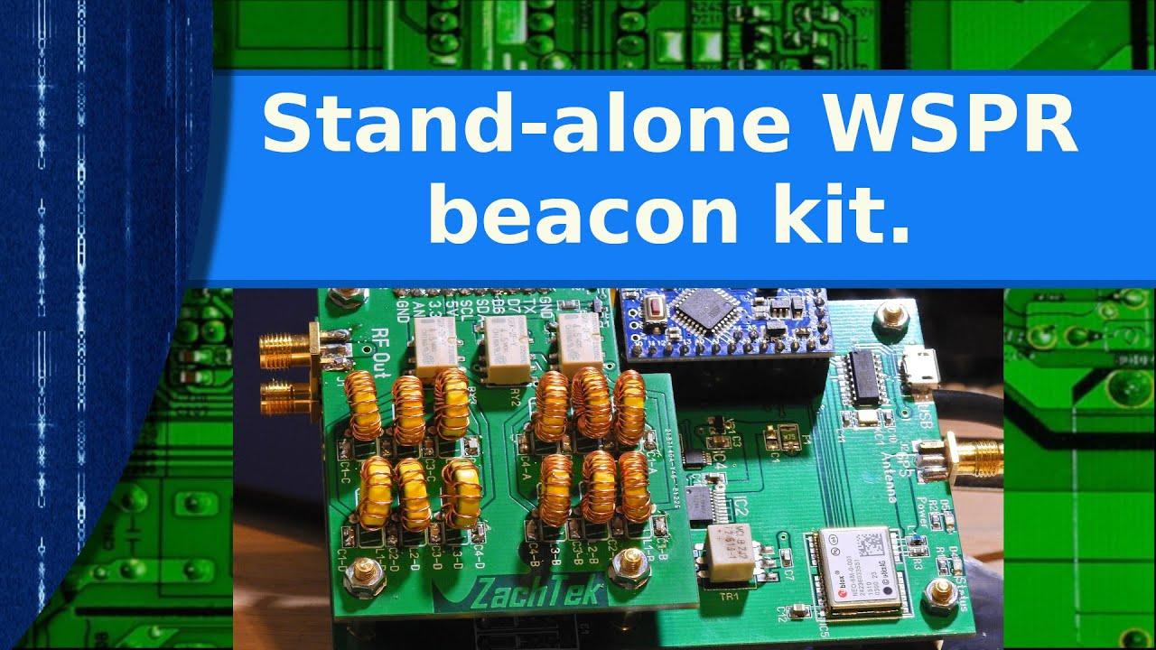 Ham Radio - A stand-alone WSPR beacon kit
