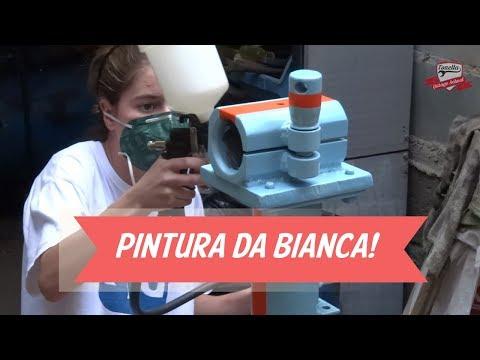 Tonella - Pintura da Bianca!