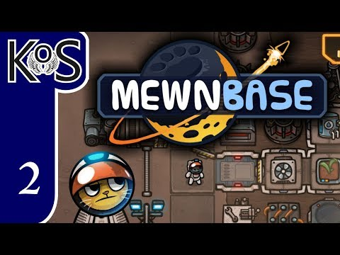 MewnBase Ep 2: NUCLEAR POWER & FOOD SUPPLIES - First Look - (Early Access v0.39) Let's Play Gameplay