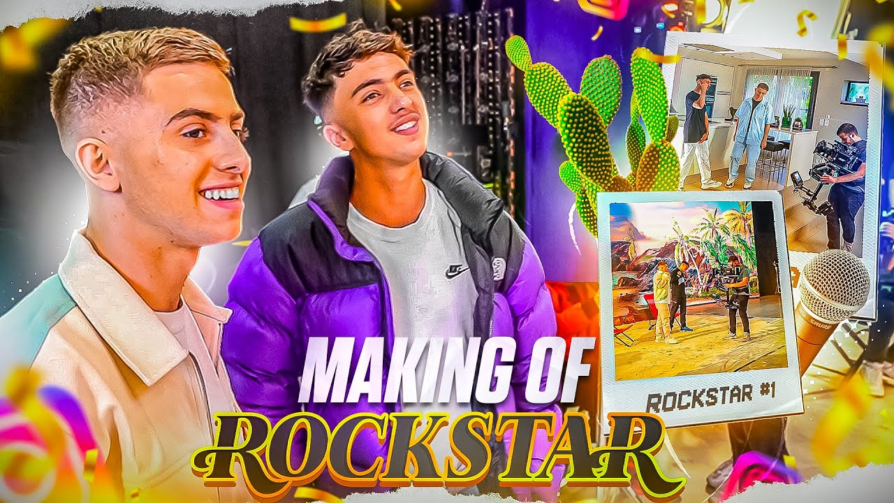 LE PLUS GROS TOURNAGE DE MA VIE ! (Making Of Rockstar)