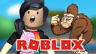 SOU COMIDA DE ZOOLÓGICO?! - Roblox (Escape the Zoo Obby!!)