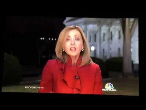 TV Blooper  Chris Jansing Lester Holt NBC News