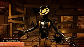 BENDY AND THE INK MACHINE CAN'T WAIT FOR CHAPTER 5 [🔴LIVE]