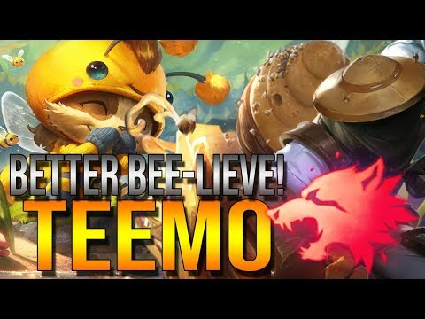 Beemo And Singed Wanna Bee Buinsess Teemo Predator Support League Of Legends