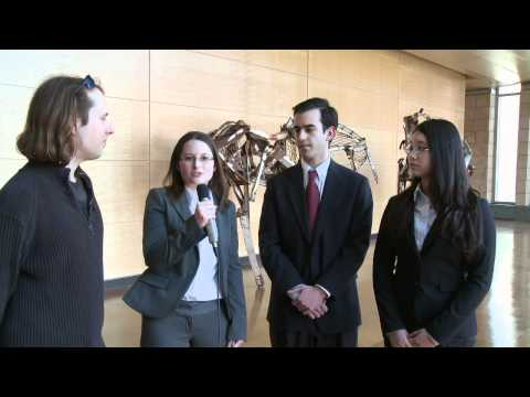 Carnegie Mellon University students pitch a stock at MII / Ross Stock Pitch Competition
