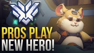 Pros Play New Hero Hammond! - Overwatch Montage