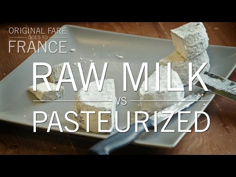 Raw Milk vs. Pasteurized | Original Fare in France | PBS Food