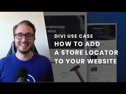 How To Add A Store Locator To Your Website With Divi's Handyman Layout Pack