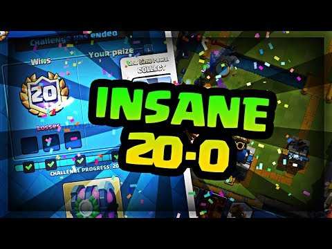 20-0 IN THE CROWN CHAMPION FINALS CHALLENGE FIRST TRY.  Best Graveyard Deck Guide - Clash Royale