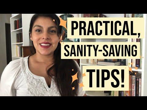 5 Sanity Saving Tips for Stay at Home Mamas