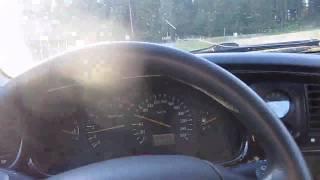 Ford Scorpio STW -1997, Test drive (my old car)